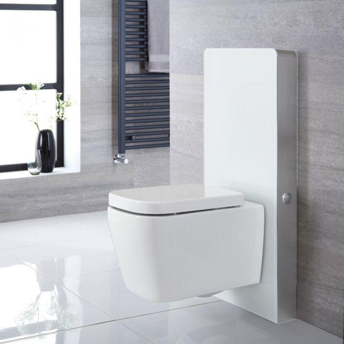 WC Milton avec meuble – 50 cm – Blanc - Saru