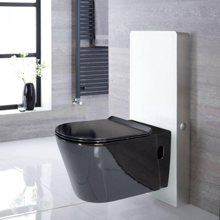 Meuble avec WC Nox – Blanc – 50 cm - Saru