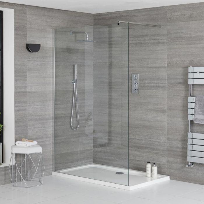 Douche italienne avec receveur de douche – multiples tailles disponibles – Portland