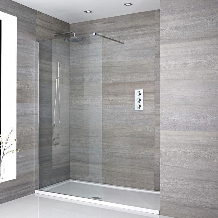 Douche italienne avec receveur de douche – Choix de tailles – Portland