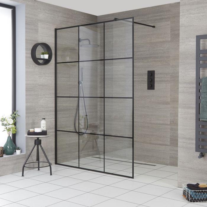 Paroi de douche verrière – Choix de tailles – Barq
