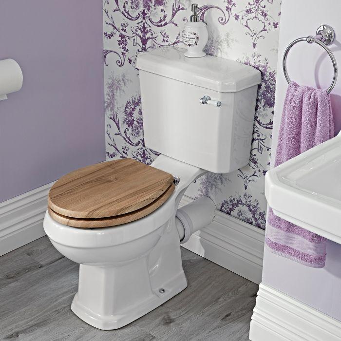 WC Rétro Carlton - Choix d'abattant - 3 Coloris