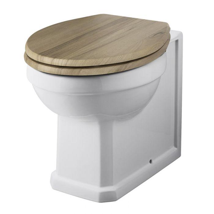 Cuvette WC Rétro Carlton - Choix d'abattant