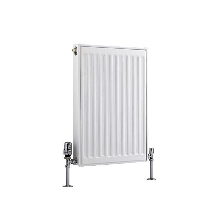 Radiateur À Panneaux Type 11 Horizontal Blanc Eco 60cm x 40cm x 5cm 370 Watts