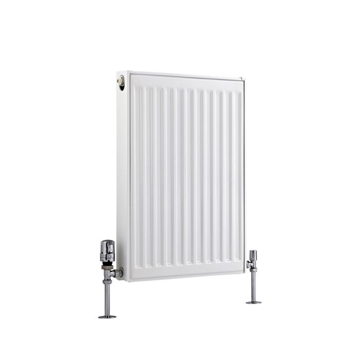 Radiateur À Panneaux Type 21 Horizontal Blanc Eco 60cm x 40cm x 7,3cm 535 Watts