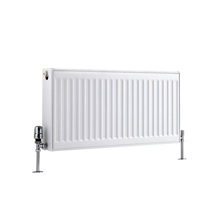 Radiateur À Panneaux Type 22 Horizontal Blanc Eco 40cm x 80cm x 10,3cm 924 Watts