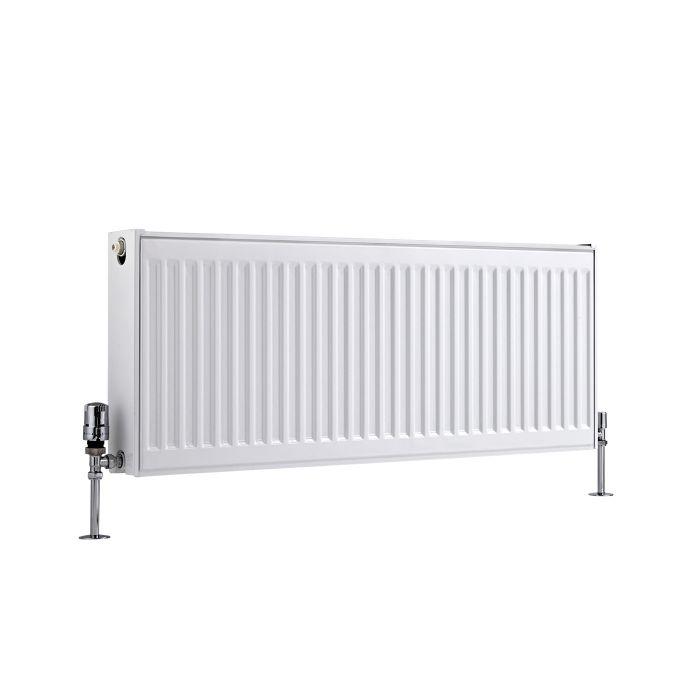 Radiateur À Panneaux Type 22 Horizontal Blanc Eco 40cm x 100cm x 10,3cm 1155 Watts