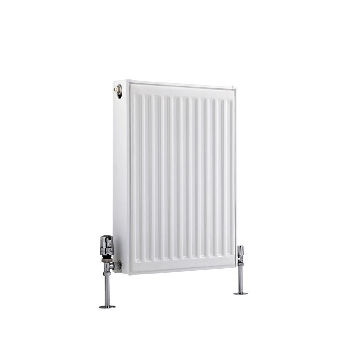 Radiateur À Panneaux Type 22 Horizontal Blanc Eco 60cm x 40cm x 10,3cm 704 Watts