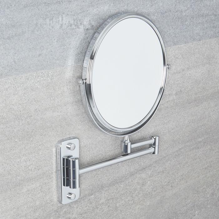 Miroir de Salle de Bains grossissant Ø 20cm