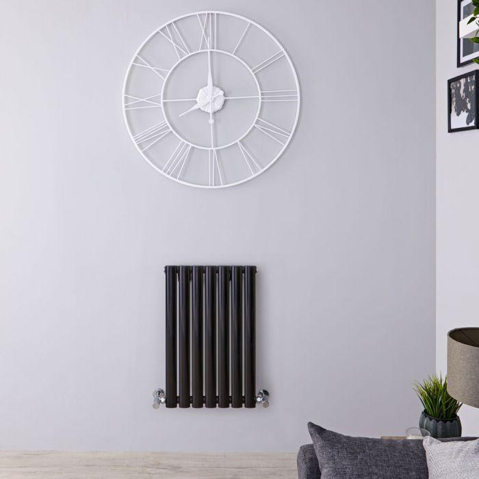 Radiateur Design Horizontal Noir Vitality 63,5cm x 41,5cm x 5,5cm 418 Watts