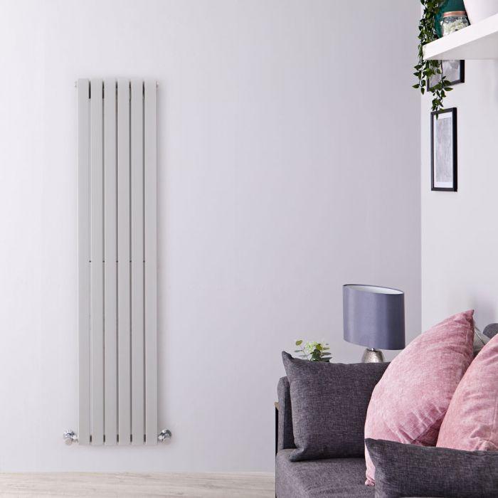 Radiateur Design Vertical Argent Sloane 160cm x 35,4cm x 5,4cm 861 Watts