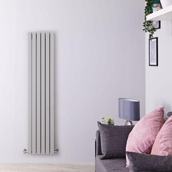 Radiateur Design Vertical Blanc Sloane 160cm x 35,4cm x 5,4cm 862 Watts