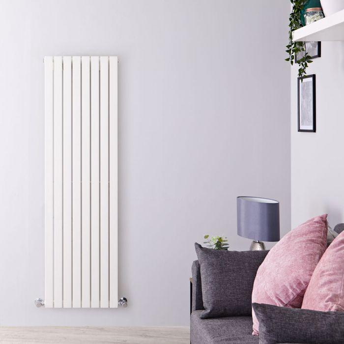 Radiateur Design Vertical Blanc Sloane 160cm x 47,2cm x 5,3cm 1149 Watts