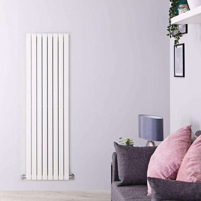 Radiateur Design Vertical Blanc Sloane 160cm x 47,2cm x 7,2cm 1591 Watts