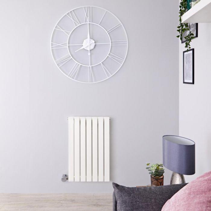 Radiateur Design Électrique Horizontal Blanc Sloane 63,5cm x 42cm x 5,4cm