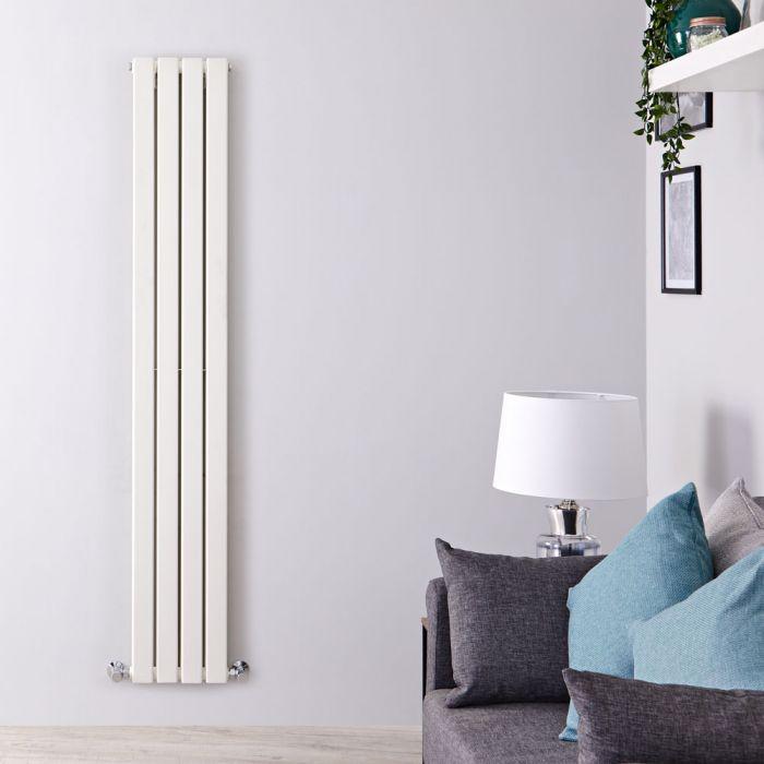 Radiateur Design Vertical Blanc Delta 160cm x 28cm x 6cm 882 Watts