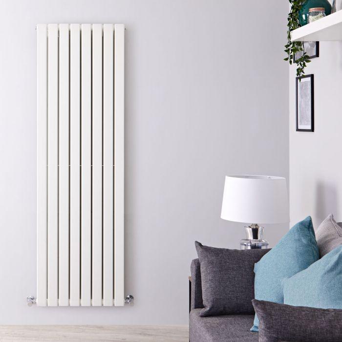 Radiateur Design Vertical Blanc Delta 160cm x 56cm x 6cm 1764 Watts