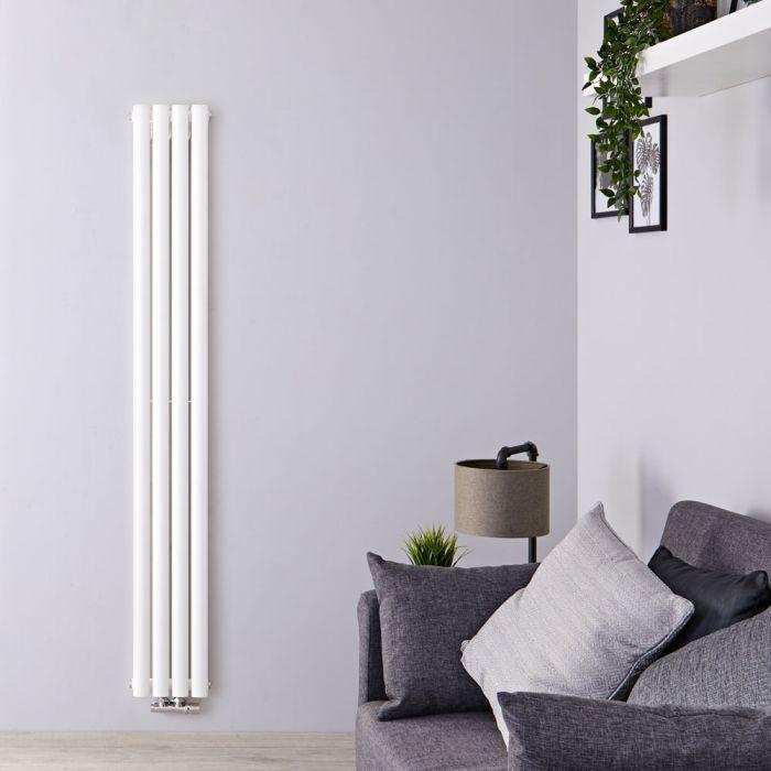 Radiateur Design Vertical Blanc Vitality 180cm x 23,6cm x 7,8cm 810 Watts