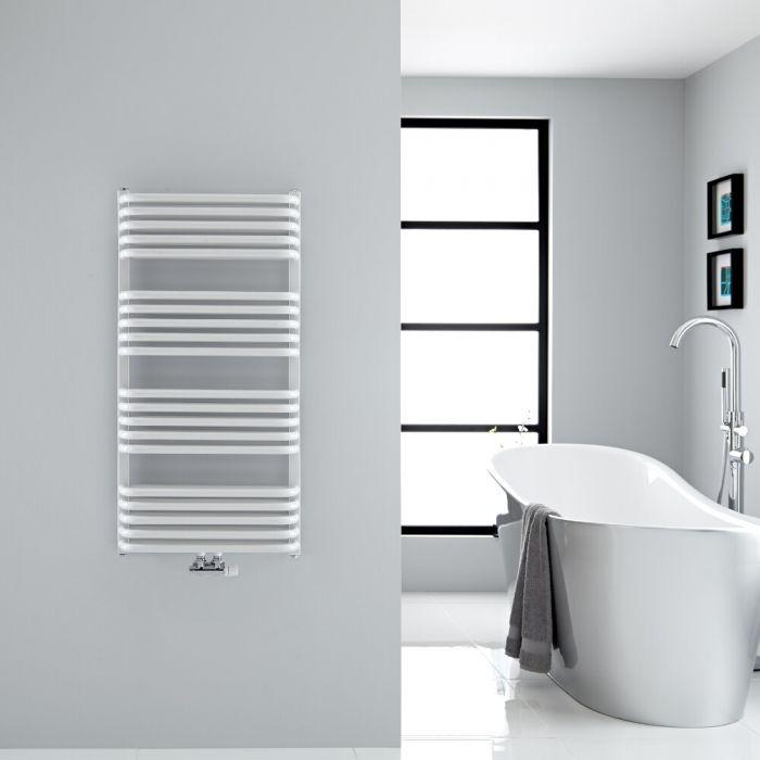 Sèche-serviettes eau chaude blanc Arch 100x50cm 933 watts
