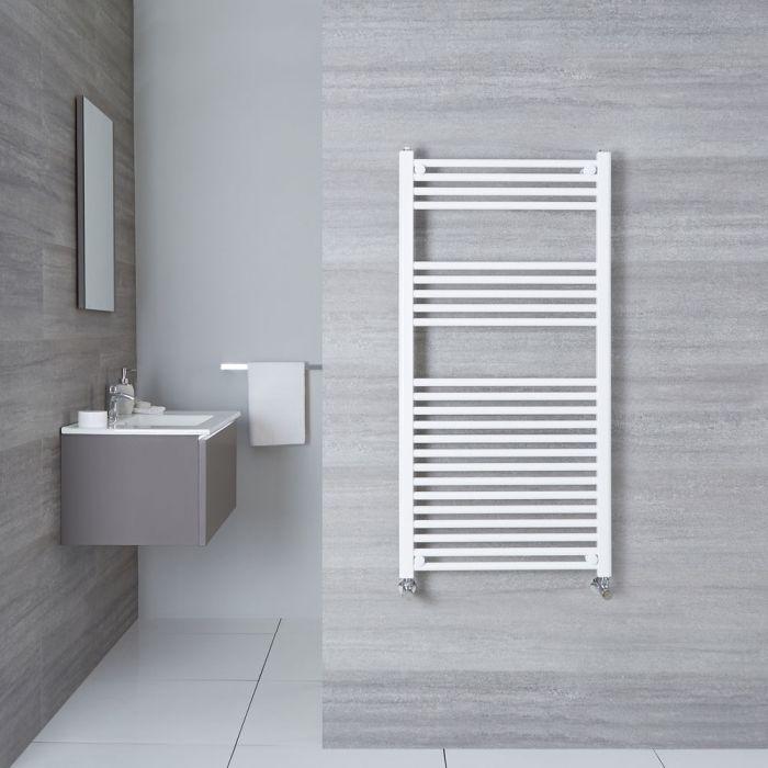 Sèche-Serviettes Blanc Etna 120cm x 60cm x 3cm 755 Watts