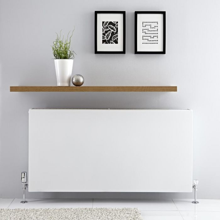 Radiateur horizontal Blanc Type 22 Merus 60 x 120cm 2597 watts