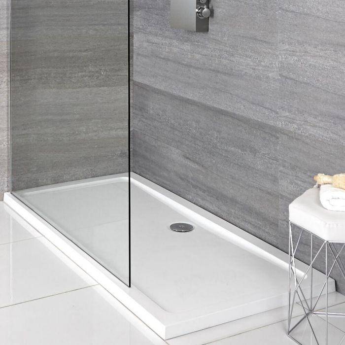 Receveur de douche rectangulaire 110 x 80cm
