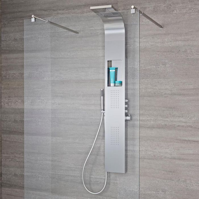 Colonne de douche thermostatique 3 Fonctions Vista Chromée