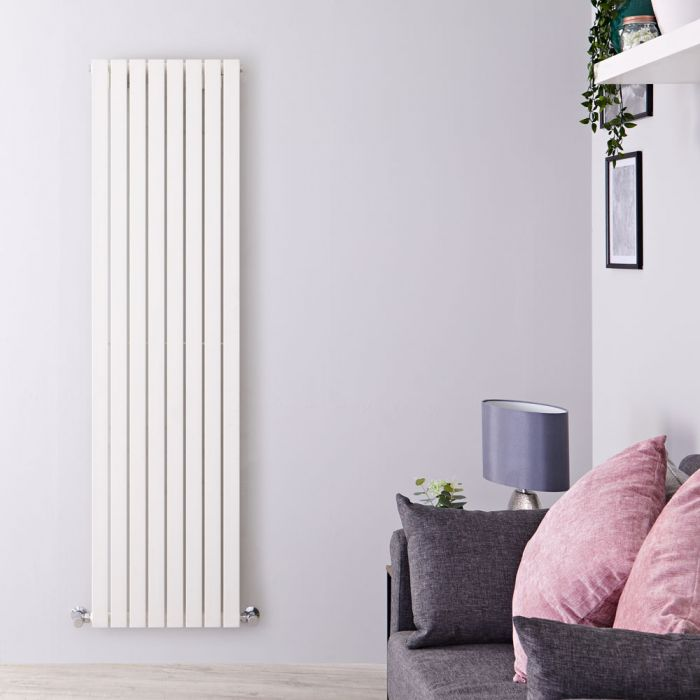 Radiateur Design Vertical Blanc Sloane 178cm x 47,2cm x 5,3cm 1196 Watts