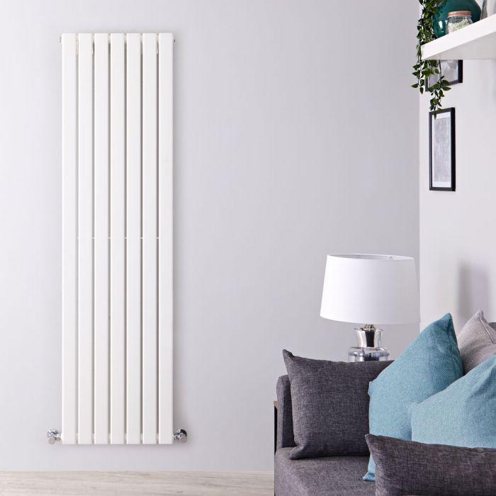 Radiateur Design Vertical Blanc Delta 178cm x 49cm x 4,7cm 1152 Watts