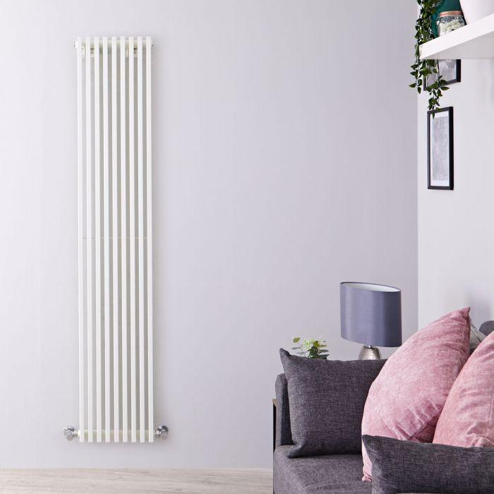 Radiateur Design Vertical Blanc Parallel 178cm x 34,2cm x 8,4cm 1177 Watts