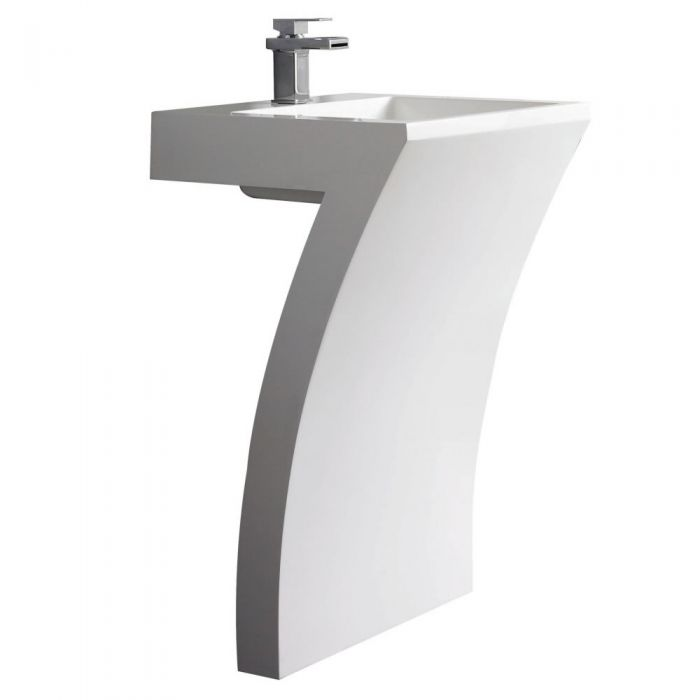 Lavabo totem Numéro 7