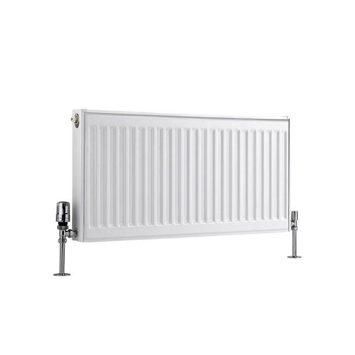 Radiateur À Panneaux Type 11 Horizontal Blanc Eco 40cm x 80cm x 5cm 547 Watts