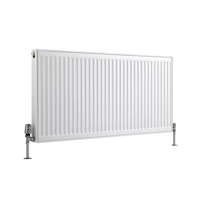 Radiateur À Panneaux Type 21 Horizontal Blanc Eco 60cm x 120cm x 7,3cm 1607 Watts