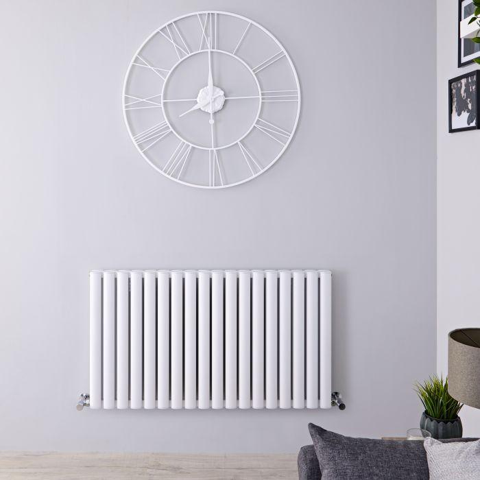 Radiateur Aluminium Design Blanc Vitality Air 60 x 107cm 2067 watts
