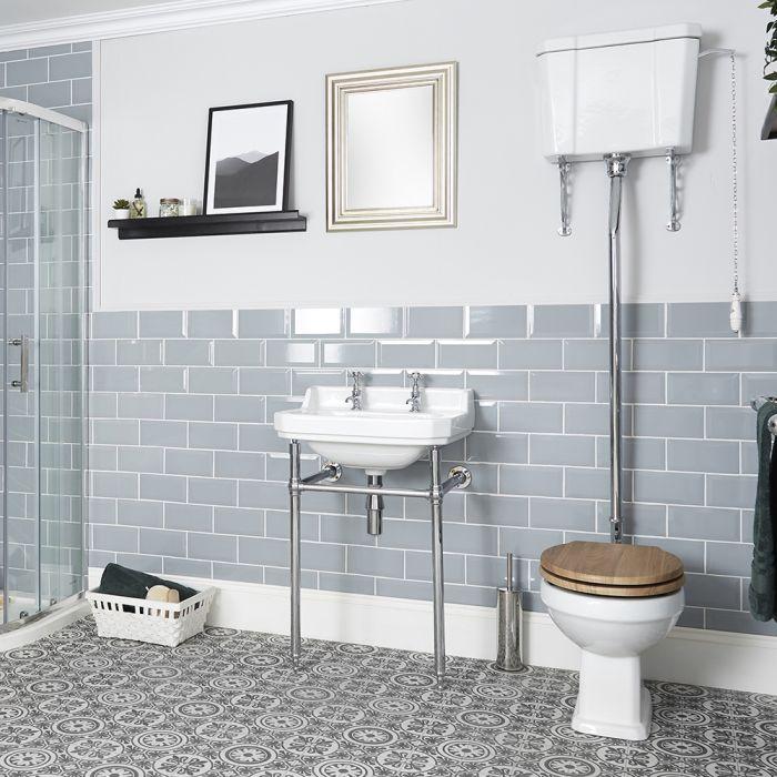 WC Rétro Carlton - Chasse Haute - Choix d'Abattant