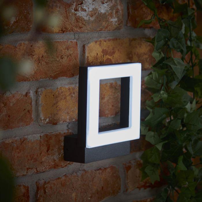 Biard Ivrea -  Applique murale extérieur anthracite - IP65 - LED 10W
