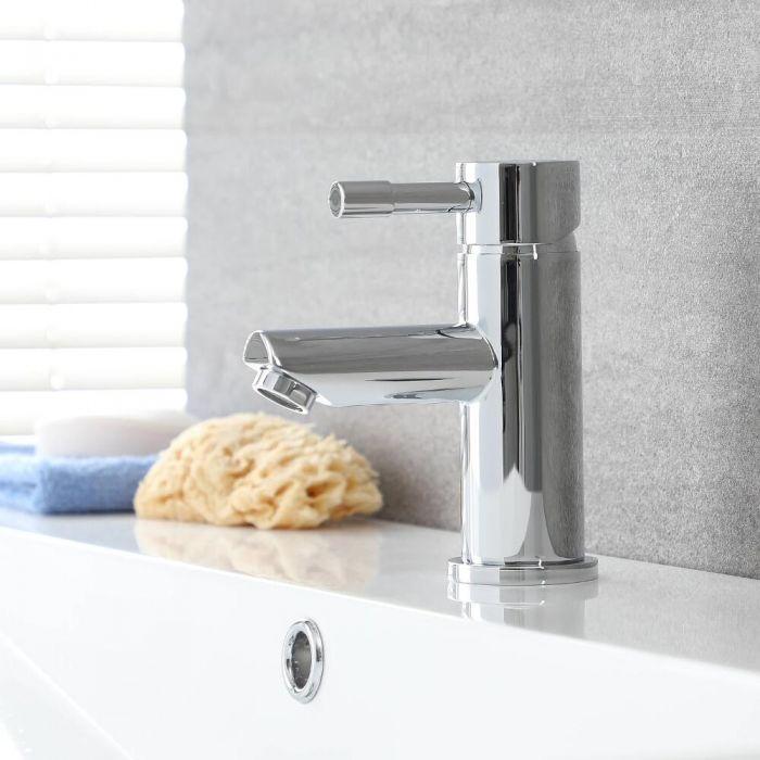 Mitigeur lavabo - Laiton Massif - Finition Chromée