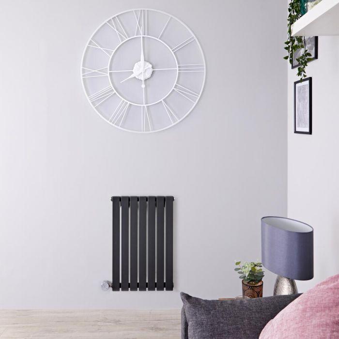 Radiateur design électrique horizontal - Anthracite - 63,5 cm x 42 cm x 5,4 cm - Sloane