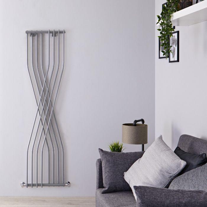 Radiateur Design Vertical Argent Xcite 177,5cm x 45cm x 11cm 925 Watts