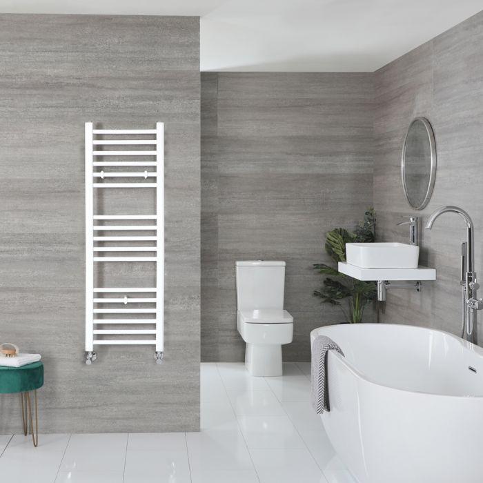 Sèche-serviettes plat – Blanc – 120 cm x 40 cm - Ive