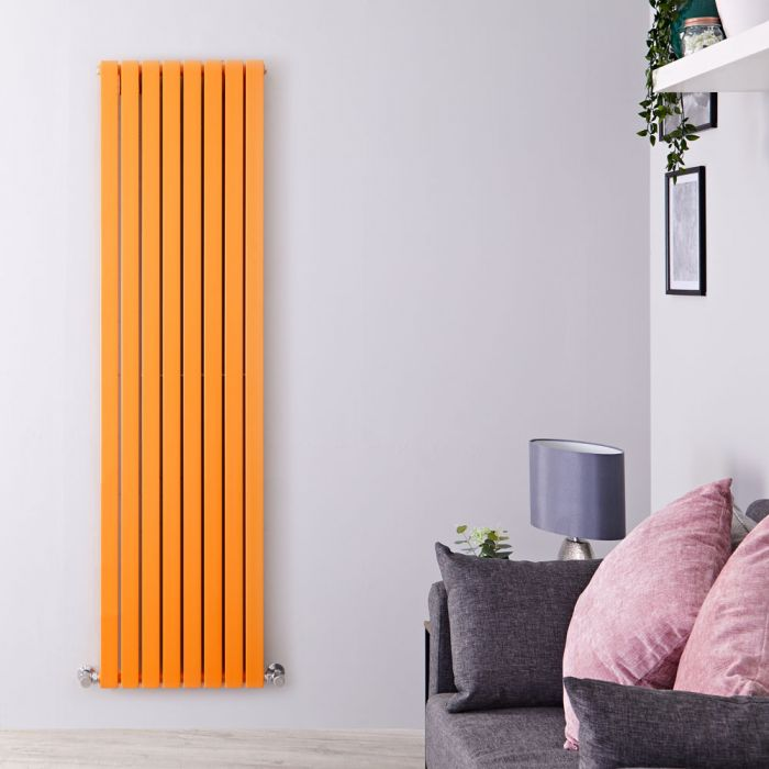 Radiateur vertical Sloane Orange 178 x 47.2cm 1931 watts