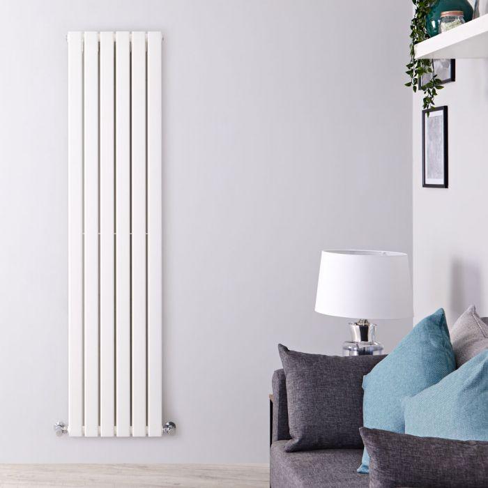 Radiateur Design Vertical Blanc Delta 178cm x 42cm x 6cm 1484 Watts