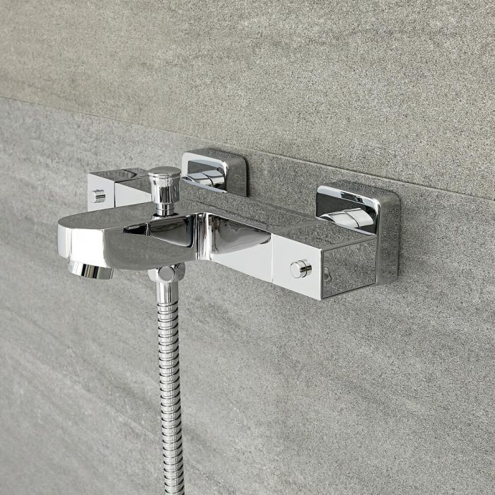 Mitigeur Bain Douche Thermostatique - Kubix