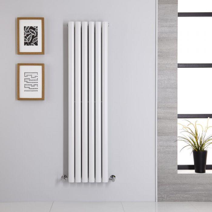 Radiateur Vertical Vitality Blanc 140cm x 35.4cm x 7.8cm 1044 watts