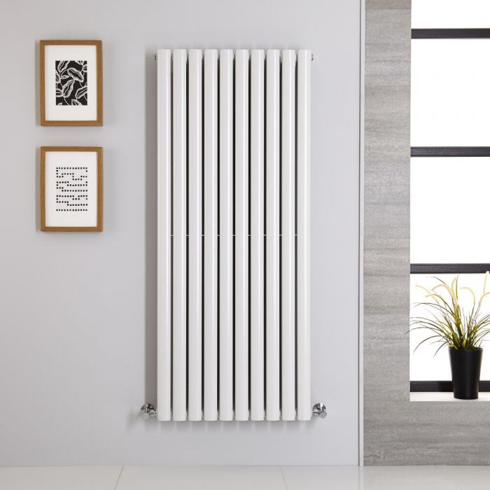 Radiateur Vertical Vitality Blanc 140cm x 59cm x 7.8cm 1740 watts