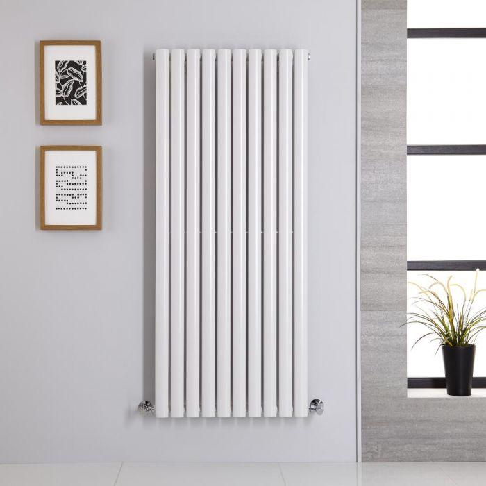 Radiateur Vertical Vitality Blanc 140cm x 59cm x 5.6cm 1143 watts