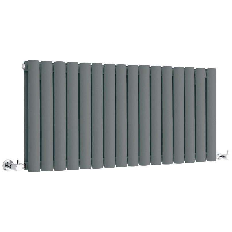 Radiateur horizontal anthracite Vitality 40 x 100cm 1052 watts