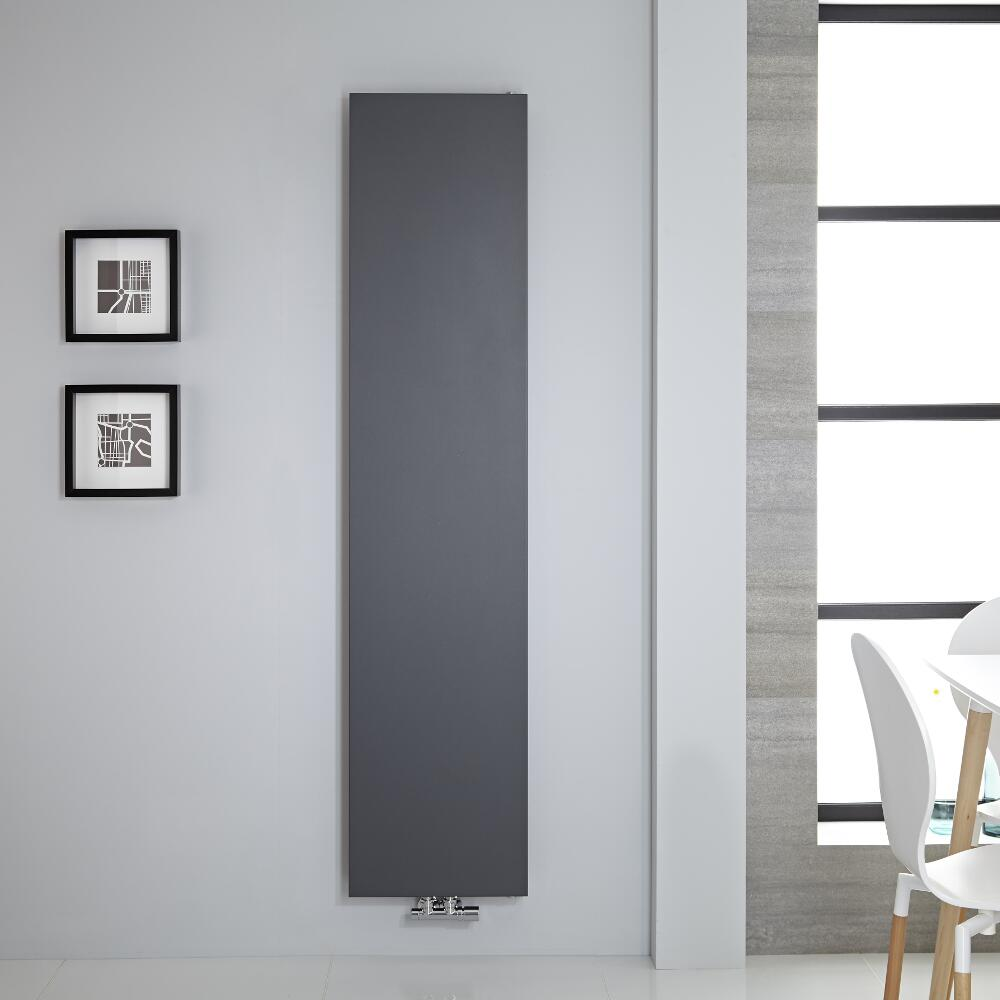 Radiateur vertical 180x40cm 842 watts Rubi Anthracite
