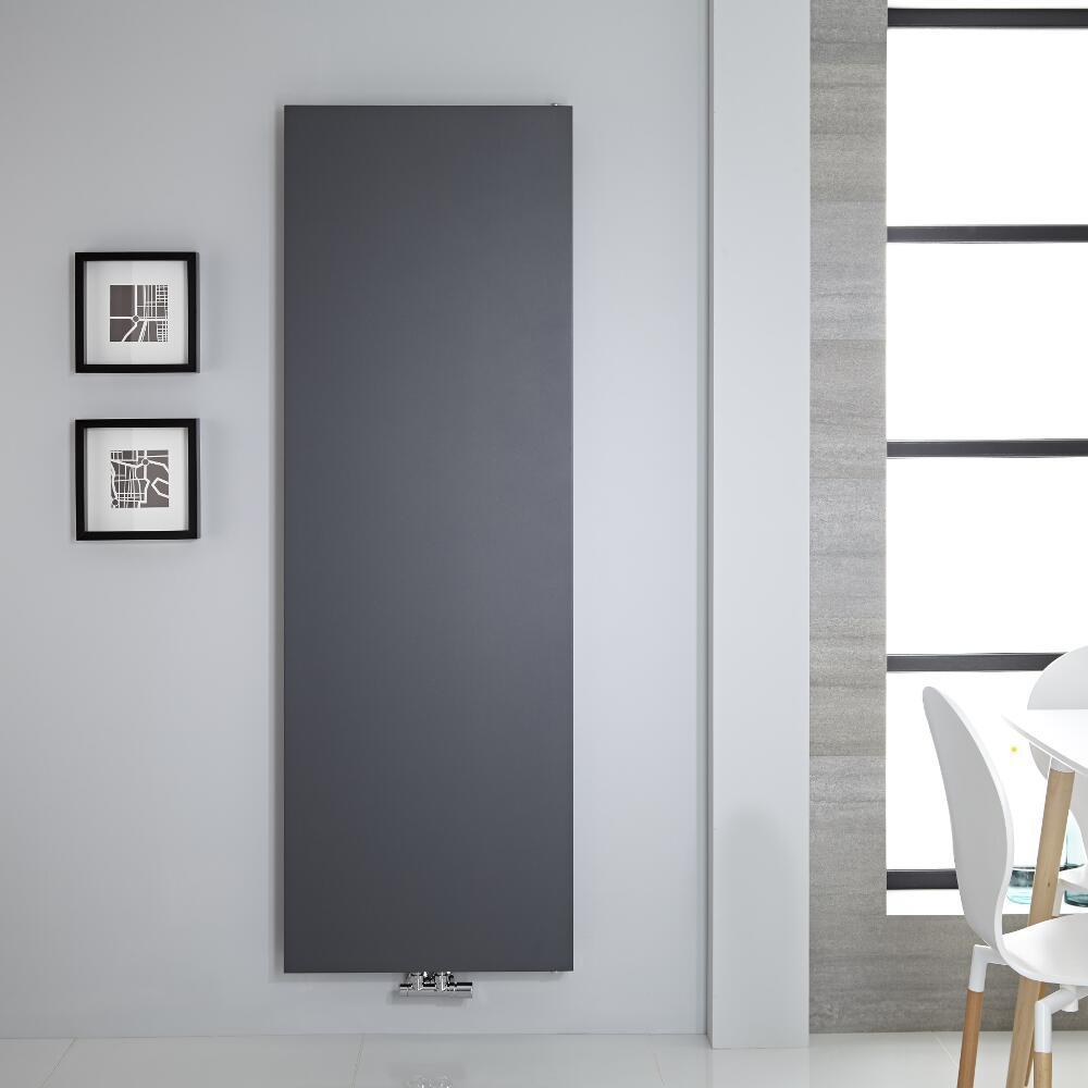 Radiateur vertical 180x60cm 1404 watts Rubi Anthracite