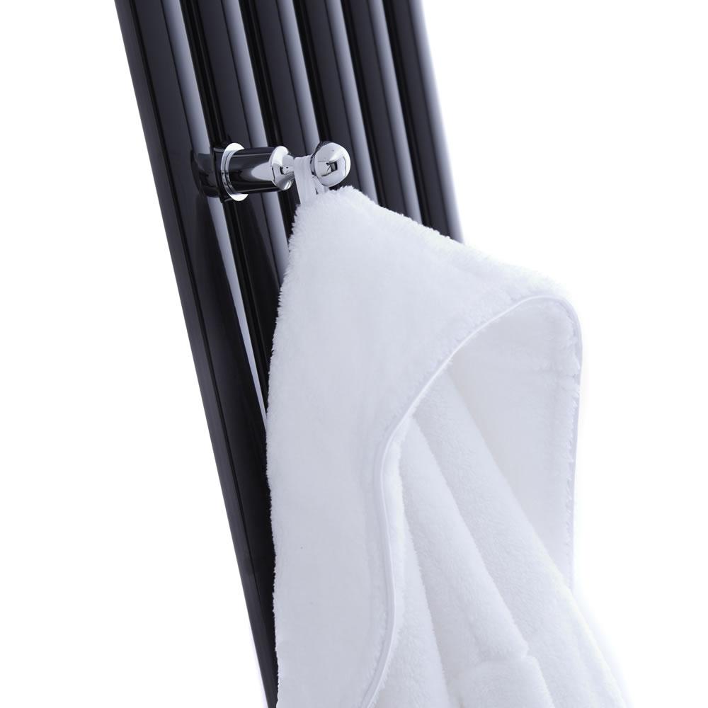 Patère crochet porte-serviettes & peignoir pour Radiateur Vitality